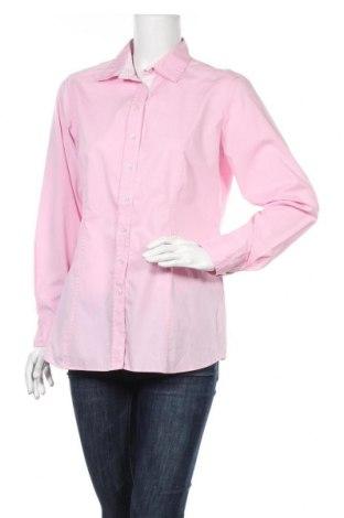 Дамска риза Eterna, Размер L, Цвят Розов, 98% памук, 2% еластан, Цена 12,29лв.