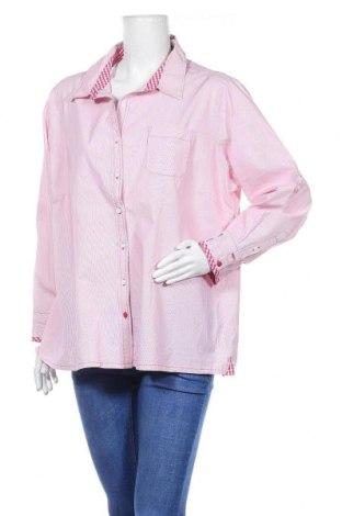 Γυναικείο πουκάμισο Fabiani, Μέγεθος 3XL, Χρώμα Ρόζ , Βαμβάκι, Τιμή 8,18€