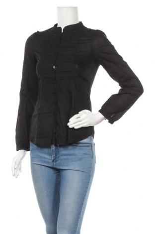 Дамска риза Fashion Elle, Размер S, Цвят Черен, 100% памук, Цена 9,45лв.