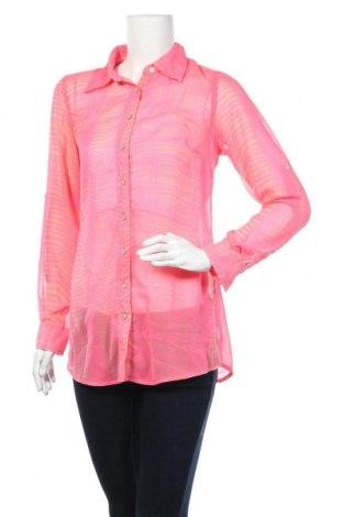 Дамска риза Gina, Размер M, Цвят Розов, Полиестер, Цена 5,53лв.