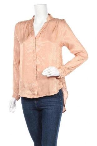 Дамска риза H&M, Размер S, Цвят Бежов, Полиестер, Цена 5,48лв.