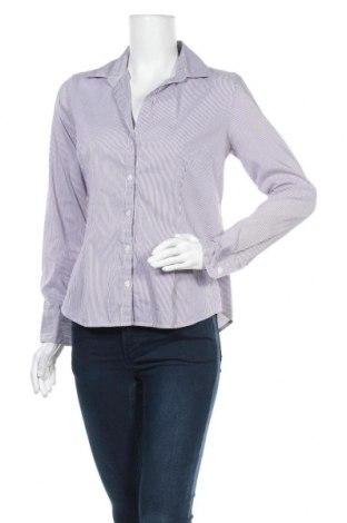 Дамска риза H&M, Размер M, Цвят Лилав, 41% полиестер, 33% памук, 24% полиамид, 2% еластан, Цена 4,73лв.