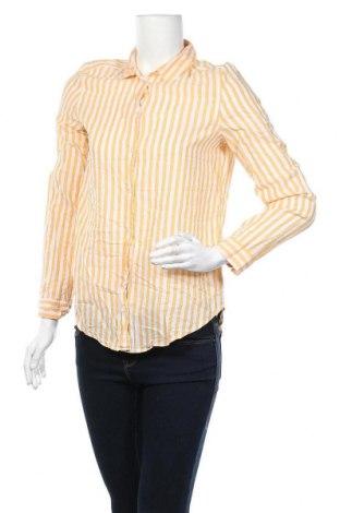Дамска риза H&M Divided, Размер XS, Цвят Оранжев, 100% памук, Цена 5,78лв.