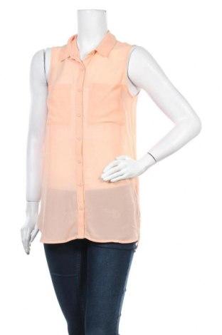 Γυναικείο πουκάμισο H&M Divided, Μέγεθος S, Χρώμα Πορτοκαλί, Πολυεστέρας, Τιμή 2,73€