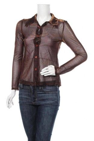 Дамска риза Hennes, Размер M, Цвят Оранжев, Цена 11,76лв.