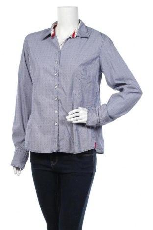 Дамска риза Lucky de Luca, Размер XL, Цвят Син, 72% памук, 24% полиамид, 4% еластан, Цена 27,93лв.