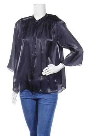 Дамска риза MOS MOSH, Размер M, Цвят Син, Полиестер, Цена 18,90лв.