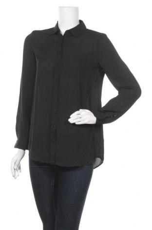 Дамска риза Mango, Размер S, Цвят Черен, Цена 12,29лв.