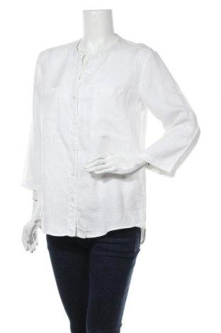 Дамска риза Marc Aurel, Размер S, Цвят Бял, Лен, Цена 26,88лв.