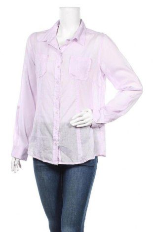 Γυναικείο πουκάμισο Michele Boyard, Μέγεθος L, Χρώμα Βιολετί, Βαμβάκι, Τιμή 3,64€