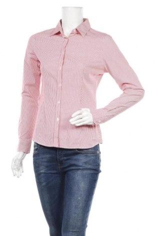 Дамска риза Montego, Размер M, Цвят Червен, 96% памук, 4% еластан, Цена 8,03лв.