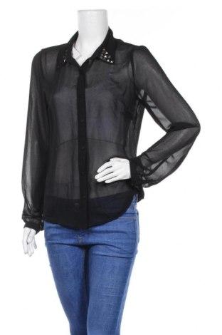 Дамска риза Pieces, Размер L, Цвят Черен, Цена 5,48лв.