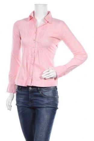 Дамска риза Street One, Размер S, Цвят Розов, 69% памук, 27% полиамид, 4% еластан, Цена 4,99лв.