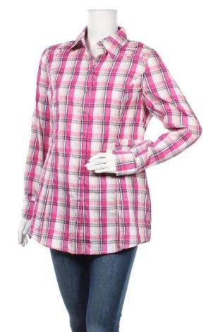 Дамска риза Top Secret, Размер L, Цвят Многоцветен, 69% памук, 30% полиамид, 1% еластан, Цена 21,84лв.