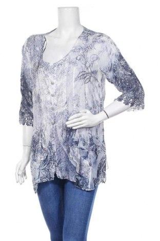 Γυναικείο πουκάμισο Tredy, Μέγεθος L, Χρώμα Πολύχρωμο, Πολυεστέρας, Τιμή 6,43€