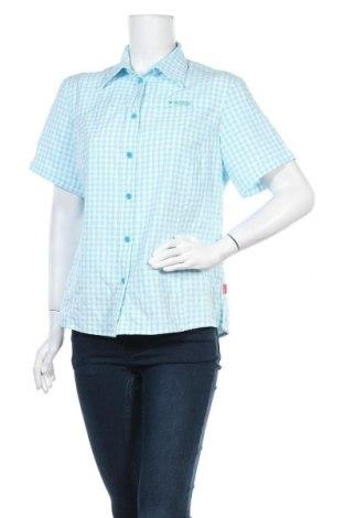 Дамска риза Vittorio Rossi, Размер XL, Цвят Син, 79% полиестер, 21% полиамид, Цена 7,56лв.