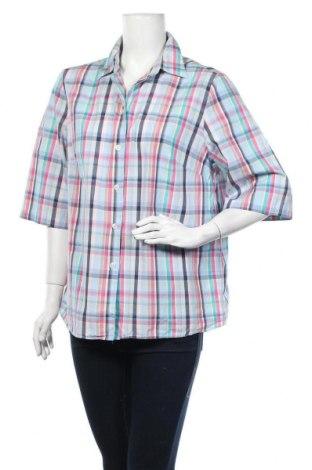 Дамска риза Walbusch, Размер XXL, Цвят Многоцветен, Памук, Цена 15,12лв.