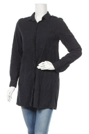Дамска риза Zara, Размер S, Цвят Син, Цена 20,90лв.