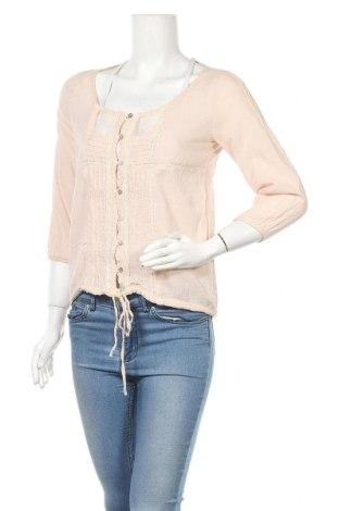 Дамска риза Zara Trafaluc, Размер M, Цвят Розов, Памук, Цена 13,05лв.