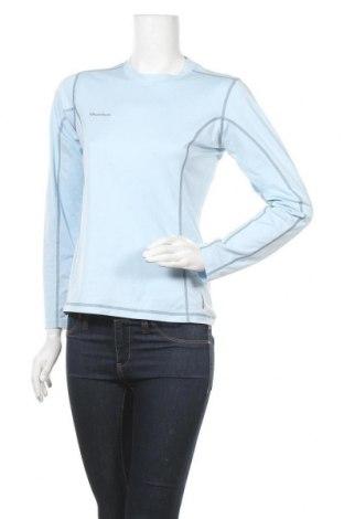 Дамска спортна блуза Quechua, Размер M, Цвят Син, Полиестер, Цена 15,12лв.