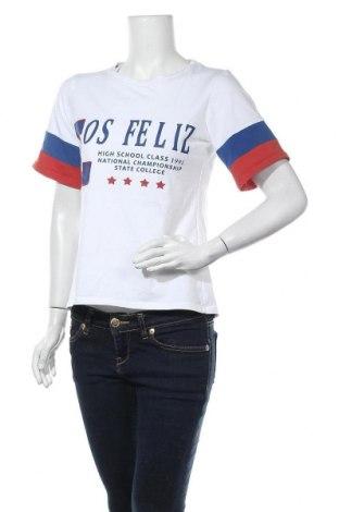 Дамска тениска, Размер S, Цвят Бял, Цена 5,53лв.