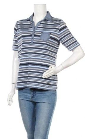 Дамска тениска, Размер M, Цвят Многоцветен, 65% полиестер, 35% памук, Цена 25,20лв.