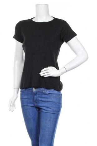 Дамска тениска, Размер XL, Цвят Черен, Памук, Цена 7,56лв.