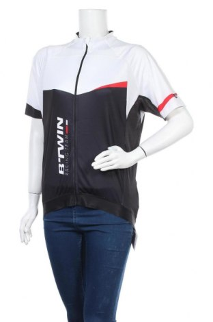 Дамска тениска, Размер XL, Цвят Черен, Полиестер, Цена 13,39лв.
