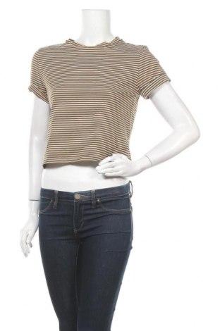 Дамска тениска, Размер S, Цвят Многоцветен, 95% памук, 5% еластан, Цена 9,98лв.