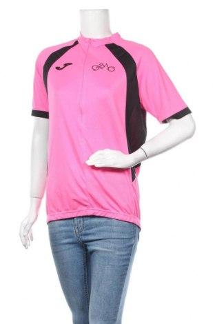 Дамска тениска, Размер L, Цвят Розов, Полиестер, Цена 19,69лв.