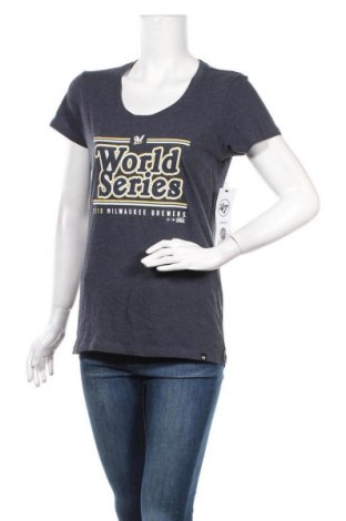 Дамска тениска, Размер M, Цвят Син, 70% памук, 30% полиестер, Цена 14,00лв.