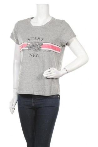 Дамска тениска, Размер XL, Цвят Сив, 85% памук, 15% вискоза, Цена 8,09лв.