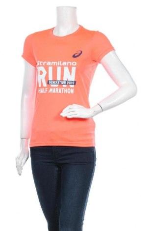 Дамска тениска ASICS, Размер XS, Цвят Розов, Полиестер, Цена 25,20лв.