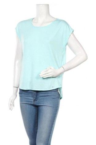 Дамска тениска Active By Tchibo, Размер S, Цвят Син, 67% полиестер, 33% вискоза, Цена 16,07лв.