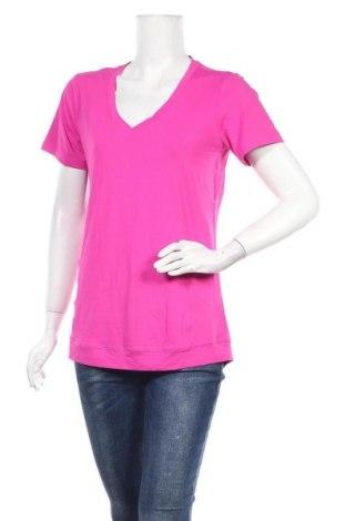Дамска тениска Active By Tchibo, Размер M, Цвят Розов, 85% полиестер, 15% еластан, Цена 7,98лв.