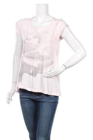 Γυναικείο t-shirt Adidas, Μέγεθος S, Χρώμα Ρόζ , 60% βαμβάκι, 40% άλλα υφάσματα, Τιμή 7,27€