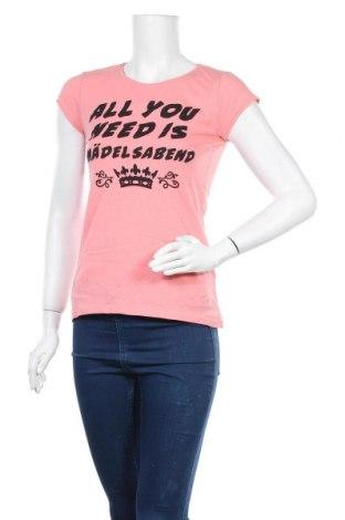 Дамска тениска Blind Date, Размер M, Цвят Розов, Памук, Цена 8,93лв.
