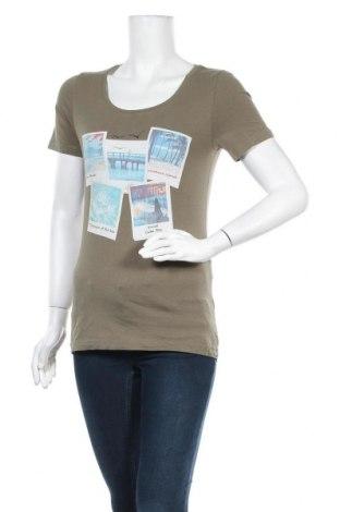 Дамска тениска Blue Motion, Размер S, Цвят Зелен, 95% памук, 5% еластан, Цена 6,25лв.