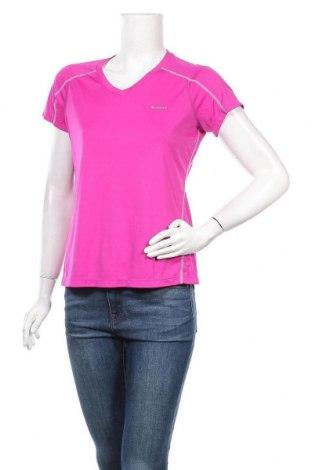 Дамска тениска Columbia, Размер L, Цвят Розов, Полиестер, Цена 33,60лв.