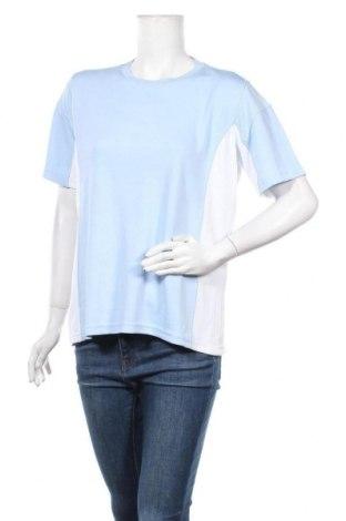 Дамска тениска Crane, Размер L, Цвят Син, 65% полиестер, 35% полиамид, Цена 5,36лв.