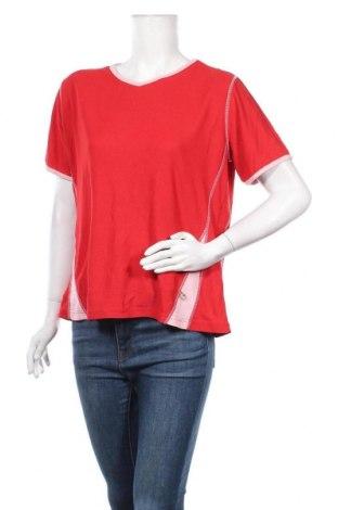 Дамска тениска Crane, Размер L, Цвят Червен, 55% полиамид, 45% полиестер, Цена 15,96лв.