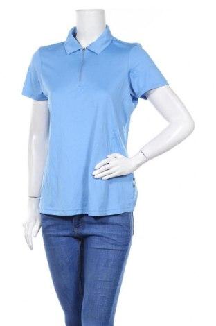 Дамска тениска Crivit, Размер L, Цвят Син, Полиестер, Цена 17,85лв.
