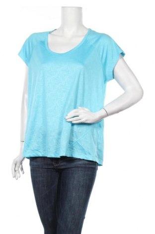 Дамска тениска Crivit, Размер XL, Цвят Син, Полиестер, Цена 5,48лв.