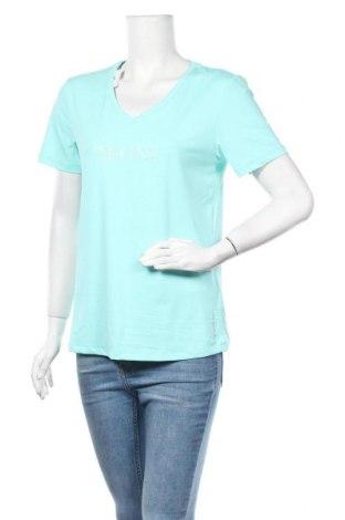 Γυναικείο t-shirt Energetics, Μέγεθος L, Χρώμα Μπλέ, 86% πολυεστέρας, 14% ελαστάνη, Τιμή 4,09€