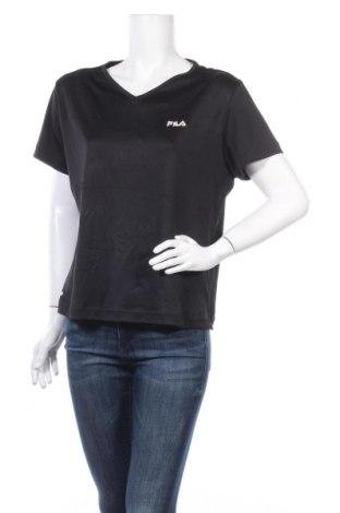 Дамска тениска Fila, Размер L, Цвят Черен, Цена 18,90лв.