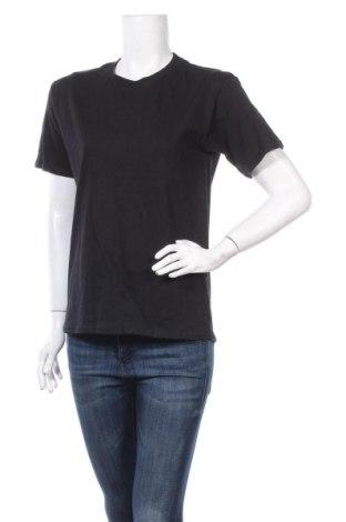 Дамска тениска Gildan, Размер S, Цвят Черен, Памук, Цена 10,80лв.