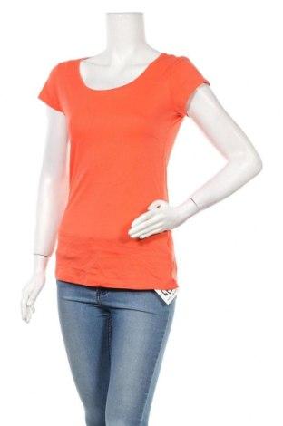 Дамска тениска H&M L.O.G.G., Размер M, Цвят Оранжев, 100% памук, Цена 8,82лв.