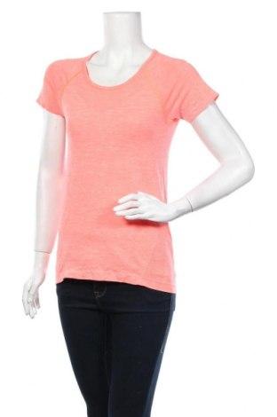 Дамска тениска H&M Sport, Размер M, Цвят Оранжев, 100% полиестер, Цена 10,08лв.