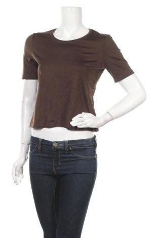 Дамска тениска In Linea, Размер M, Цвят Кафяв, 92% полиамид, 8% еластан, Цена 7,14лв.