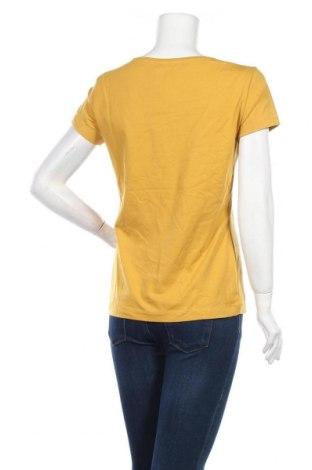 Дамска тениска Sandwich_, Размер XL, Цвят Жълт, 94% памук, 6% еластан, Цена 17,55лв.